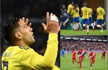 Las selecciones sudamericanas lograron nueve victorias, tres empates y tres derrotas en una nueva jornada de amistosos.