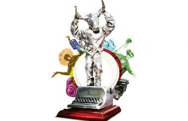Estatuilla El Torito, símbolo del Carnaval.