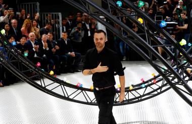 El diseñador belga Kris Van Assche
