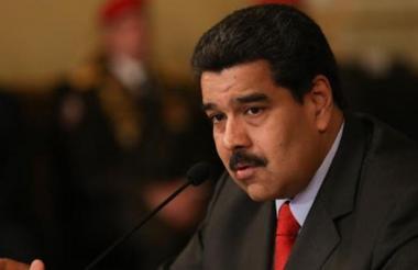 Nicolás Maduro Moros, presidente venezolano.
