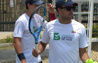 Pablo González, capitán de Colombia en la Copa Davis.