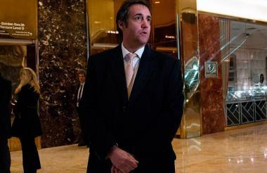 Michael Cohen, abogado de Donal Trump.