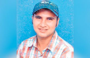 Rosemberg Ramos Rodríguez, asesinado el 9 de abril de 2007.