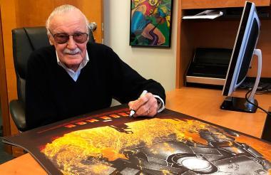 El fundador del Universo Marvel, Stan Lee.