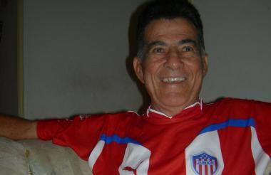 Othon Alberto Dacunha nunca perdió su acento brasileño, a pesar de vivir tantos años en Barranquilla.