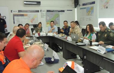 La reunión del  Grupo Especial Migratorio.