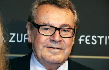 Milos Forman, director de cine que murió a los 86 años.