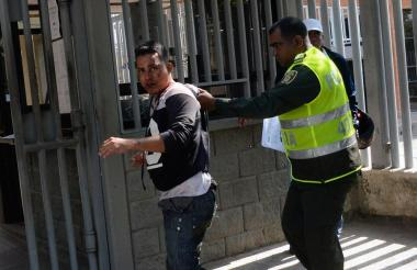 Roiman Jonás Gallardo Sánchez, capturado.