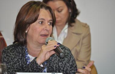 María Clara Hoyos, presidenta de Asomicrofinanzas.