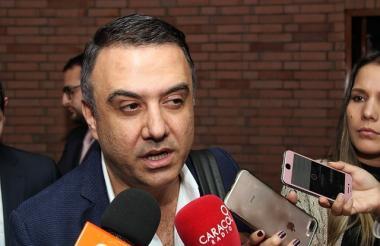 Gobernador de Córdoba, Edwin Besaile investigado por el denominado 'Cartel de la Hemofilia'.