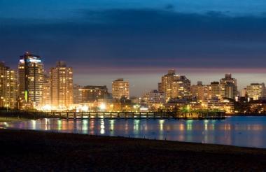 Panorámica de la ciudad de Punta del Este.