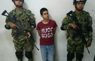 Alfonso Luis Chavarro Benedetti, capturado.