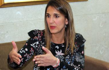 Yaneth Giha, ministra de Educación.