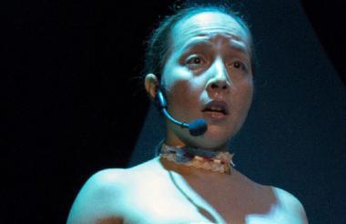 Susana Pedrozo interpreta a 'Alfonsina'.