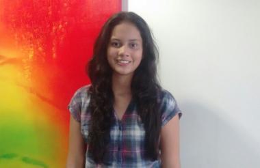Silvia Caballero, vicepresidenta de Talento Humano de Aiesec Uninorte.