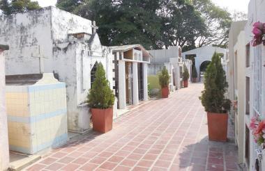 Cementerio de Fonseca, en el sur de La Guajira.