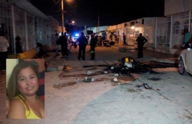 En esta calle de Vista Hermosa delincuentes dispararon contra la comunidad.