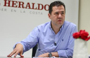 Felipe Muñoz, gerente de Colombia para la frontera venezolana, explicó el tema migratorio en EL HERALDO.