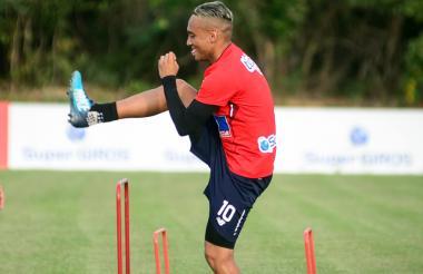 Jarlan Barrera, quien no tuvo acción ante Alianza Lima, podría jugar ante América.