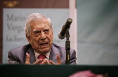 Mario Vargas Llosa, uno de los invitados internacionales de la Filbo 2018.