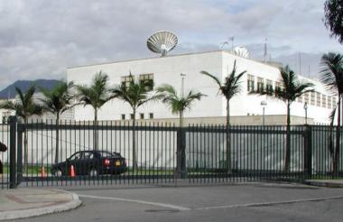 Sede de la embajada de EEUU en Bogotá.