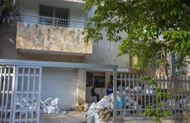La nueva casa que llegarán a ocupar López y su familia.