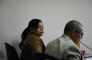 Audiencia preparatoria de juicio de Oneida Pinto.