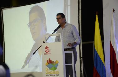 El presidente de Promigas, Antonio Celia.