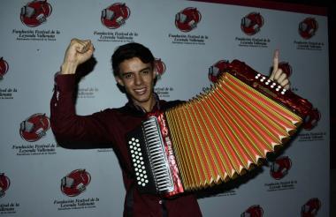 Ronal Torres, de Boyacá, es el nuevo rey aficionado de Valledupar.