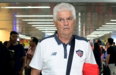 Julio Comesaña, técnico de Junior.