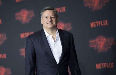 El CEO y productor de Netflix, Ted Sarandos, posa en la 70 ° edición del Festival de Cannes, en Francia.