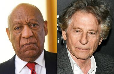 Bill Cosby de 80 años y Roman Polanski, el director franco-polaco, de 84.