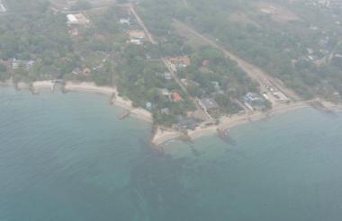 Carsucre sobrevoló la zona y no halló rastros de petróleo en el mar del Golfo.
