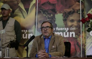 Rodrigo Londoño Echeverri, alias Timochenko.