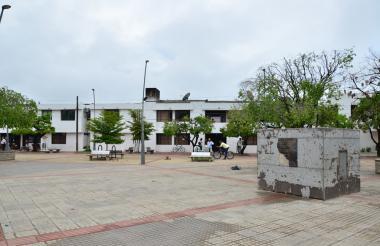 Panorámica de la Alcaldía de Chiriguaná, en el centro de Cesar.