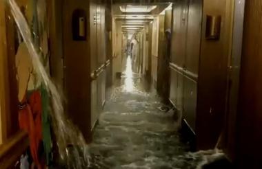 Imágenes de la inundación.