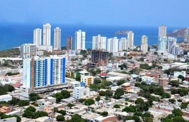 Ciudad de Santa Marta.