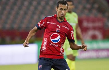 Andrés Ricaurte actuando con el Medellín.