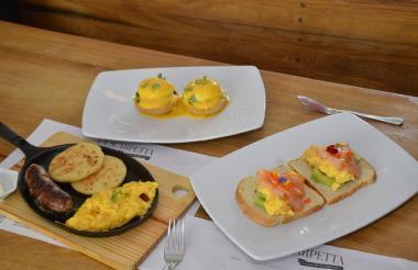 Cada uno de estos desayunos se prepara en 10 minutos o menos.