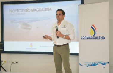 El director de Cormagdalena, Alfredo Varela.