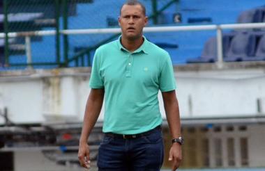 Peñaloza, DT de Barranquilla FC.