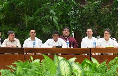 Reinstalación del quinto ciclo de negociación entre el Gobierno y el Eln en La Habana, Cuba.
