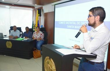 Felipe Benavides, coordinador territorial de la política de drogas.