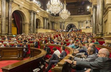Parlamento catalán.