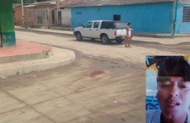 Lugar donde fueron asesinados José Víctor Suárez Gutiérrez y Viviana Matilde Suarez Gutiérrez (en la foto).