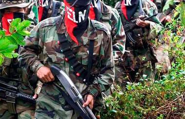 Miembros del ELN. Imagen de referencia.