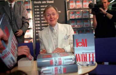 Tom Wolfe, periodista norteamericano.