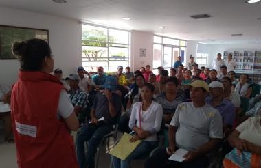 La reciente entrega de cartas de indemnización en Córdoba fue en el municipio de Cereté.