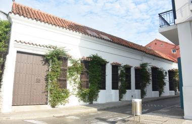 La mansión que alquilaron en 2008.