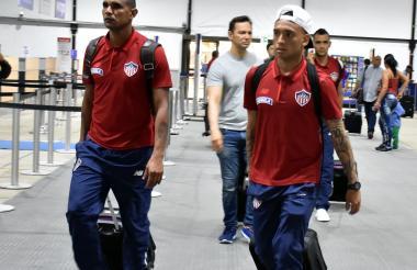 Narváez y Jarlan también viajaron a Brasil.
